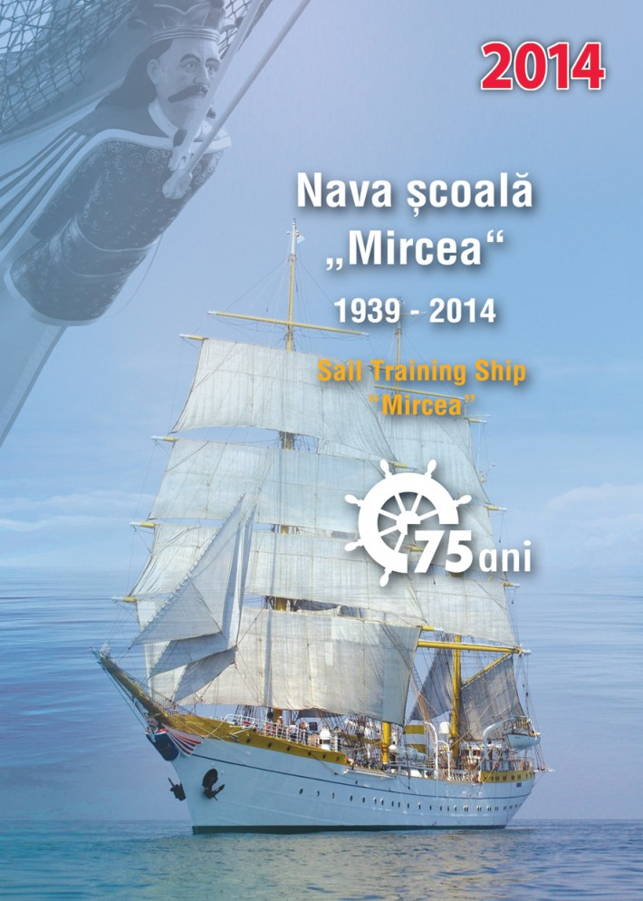 "A series of stamps depicting ""Mircea"" training vessel will be issued"
