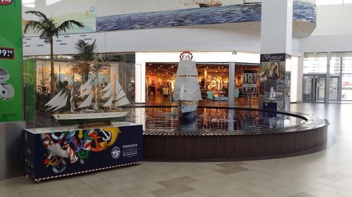 Navele Mircea şi Adornate la Mall Maritimo Constanţa